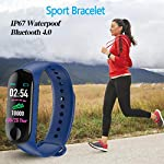 BoBoLing-Blue-Smart-Watch-Fitness-Tracker-with-Heart-Rate-Monitor-Waterproof-Step-Counter-Pedometer-Smart-Band-Wristbands-Bracelet-for-Women-Men-Kids-Best-QualityShop