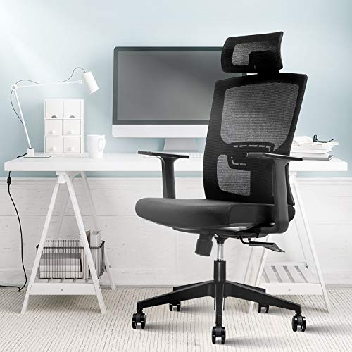 Ergonomic Office Chair,Home Comfort Chairs,High Back Adjustable Home Desk Chair...