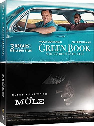 Coffret 2 films : la mule ; green book - sur les routes du sud