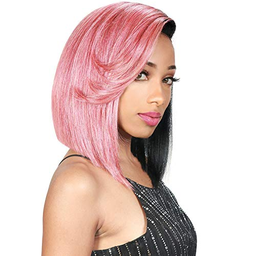 """Zury Sis Synthetic Hair Wig Hand-Tied 6"""" Half Moon Part Wig HM-H Amo (1)"""