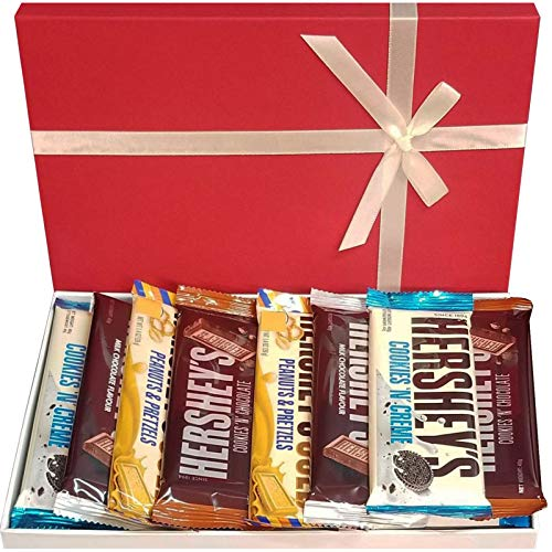 Hershey's American Chocolate Selection Box Milchschokoladenplätzchen und Schokolade & Kekse und Creme Perfect American Chocolates Box