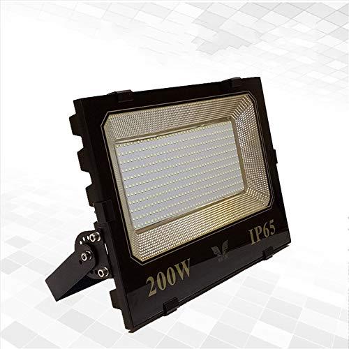 HUI LIGHT Seguro Foco Proyector LED Spotlight Impermeable Super Brillante Exterior Alta Potencia Jardín Plaza De Proyección De Luz para la Fiesta de Jardín (Tamaño : 200W)