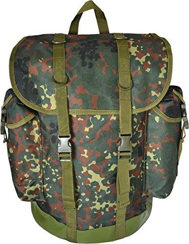 normani BW-Gebirgsrucksack, Gebirgsjäger-Rucksack, 30 Liter Farbe BW-Flecktarn