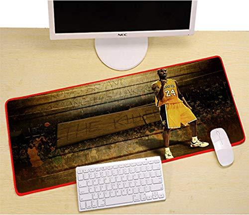 JIACHOZI XXL Gaming Mauspad groß Kreativer Basketballspieler 800×300×3 mm XXL Mousepad - Tischunterlage Large Size - verbessert Präzision und Geschwindigkeit Gaming Mauspad XXL Gross Gaming-Mauspad