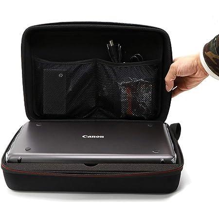 HCHENG Canon インクジェットプリンター PIXUS iP110 ケース,旧モデル Canon PIXUSIP100 を保護します及び付属品の収納 (ブラック)