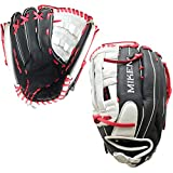 Miken Player Series Slowpitch Softball Glove, 15 inch, Right Hand Throw