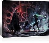 Amacigana Wohnzimmer Wandkunst, Star Wars Darth Vader und