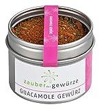 Zauber der Gewürze Guacamole Gewürz, für den köstlichen Dip aus reifen Avocados, ideal zu Tacos und Tortilla Chips, 55g