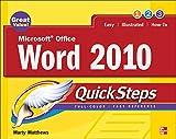 Matthews, M: Microsoft Office Word 2010 QuickSteps