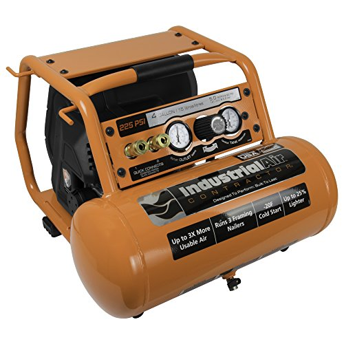 Industrial Air Contractor C041I 225 psi Pro Crew Air Compressor, 4 gallon