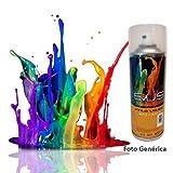 EVUS - Pintura vinilo liquido en spray de 400 ml. Color negro brillo . Ral 9005