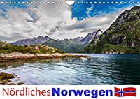 Noerdliches Norwegen (Wandkalender 2022 DIN A4 quer): Ein Kalender mit Fotografien aus dem noerdlichen Norwegen im Bereich der Lofoten bis Tromsø. (Monatskalender, 14 Seiten )