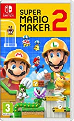Super Mario Maker 2, the sequel to Super Mario make  Launches exclusively for Nintendo Super Mario courses of your dreams