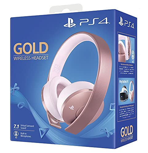 Sony - Wireless Rose Gold Headset (PS4)