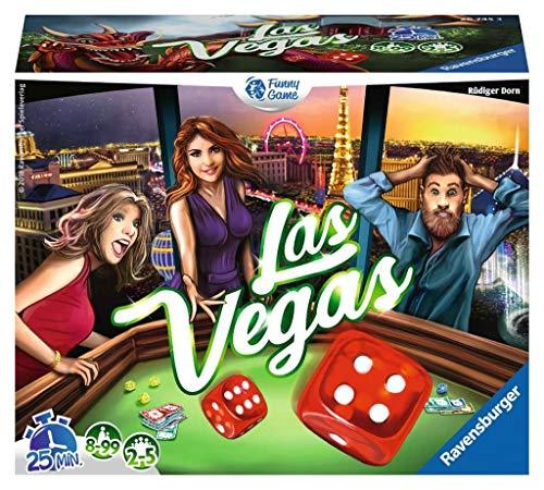 Ravensburger 26745 - Las Vegas - Gesellschaftsspiel - Ideal für Familien- und Freundeabende