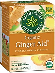 Promotes healthy digestion and prevents nausea associated with motion Non-GMO Verified. All Ingredients Certified Organic. Kosher. Caffeine Free Consistently high-quality herbs from ethical trading partnerships Taste: Warming and pleasantly spicy Cas...