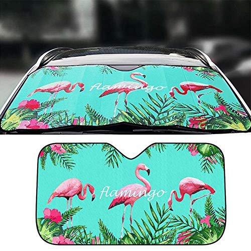 Xihaoer Parabrisas para el automóvil Paraguas Auto Parabrisas Sombra Protección contra el sol Cubierta de la ventana...