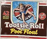 Playtek Giant Tootsie Roll Ring Float, Brown,Tootsie Brown