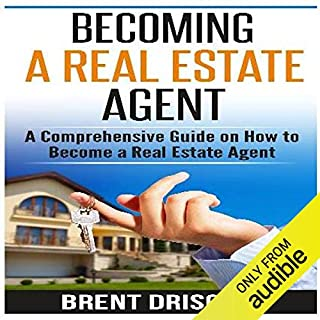 Becoming a Real Estate Agent audiobook cover art