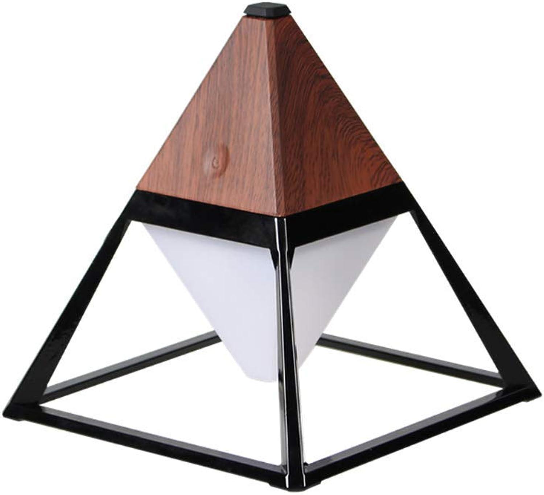 Hai Ying   LED USB Pyramide Tischlampe Moderne Kreative Einfache Touch Doppelte wasserdichte Auge Innenbeleuchtung Wohnzimmer Schlafzimmer Studie A +++