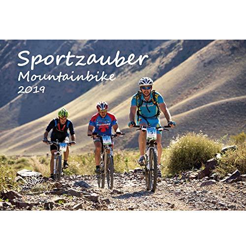 Sportzauber Mountainbike · DIN A3 · Premium Kalender 2019 · Trekking · Sport · Fiets · Zadel · Uitrusting · Top· Gebirge · Cadeauset 1 Wenskaart 1 Kerstkaart · Edition Zelmagie