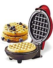 Galapara Mini-wafelijzer, ontbijtmachine, anti-aanbaklaag, eenvoudig te reinigen