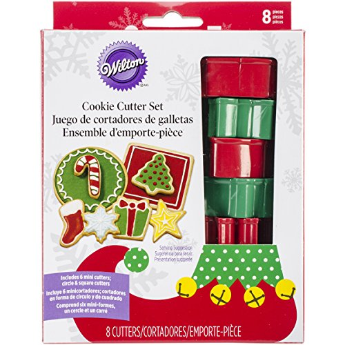 Wilton 8-Piece Christmas Cookie Cutter Set