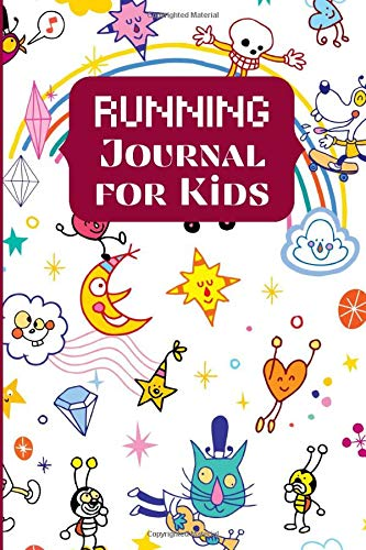 Running Journal for Kids: Personal Running Diary Log Fitness Notebook, Track Distance, Route, Weather, Runners Training Log, Exercise Sport Journal, ... Christmas (My Running Log Book, Band 24)