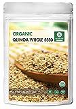 Organic Quinoa (5lb) by Naturevibe Botanicals, Gluten-Free & Non-GMO   Chenopodium quinoa   Rich in Protein, Iron & Fiber.