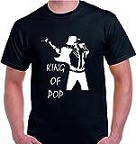 Camiseta Michael Jackson King of Pop (XXL)