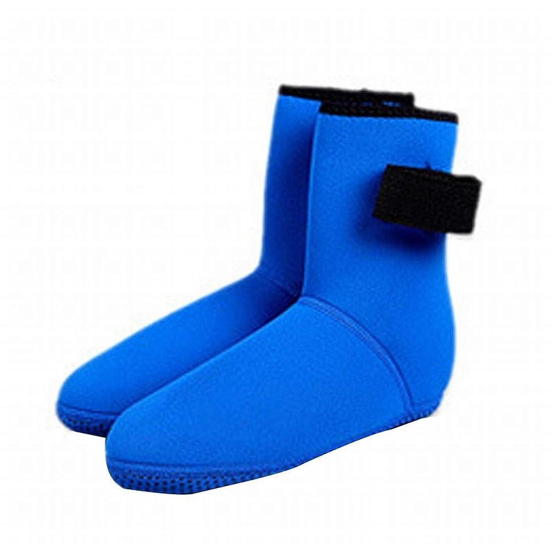ジョガーアドバンテージチョークTianmey 3ミリメートルシュノーケリング滑り止めダイビングソックスロングチューブ水泳ソックスビーチソックス快適な滑り止めダイビング用品 (Size : M)