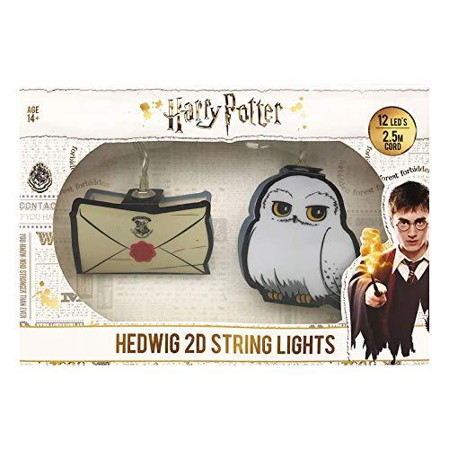 Groovy Lumiere Hedwig et Letters Hogwarts Multicolore Unique