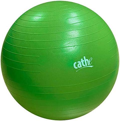 Cathe 65 cm Anti Burst Stability Exercise Ball Perfect for Pilates Yoga Abdominal Core Training product image