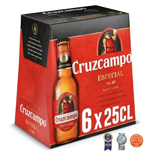 Cruzcampo Especial Cerveza, 6 x 250ml
