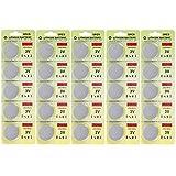 Fortuna 25 Pack CR2450 Batería de 3V El litio CR 2450