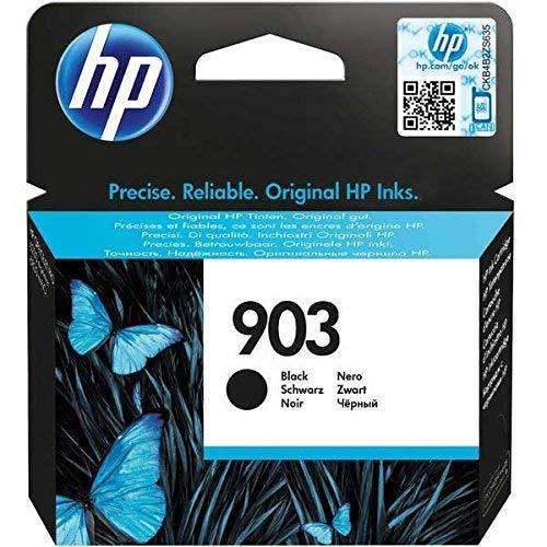 HP T6L99AE 903 Cartucho de Tinta Original, 1 unidad, negro