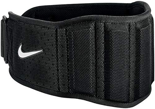 NIKE - Cinturón de entrenamiento (3,0 m), color negro y blanco