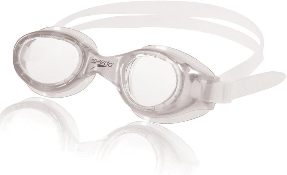 Speedo Unisex-Adult Swim Goggles Hydrospex Classic Clear, One Size : Clothing