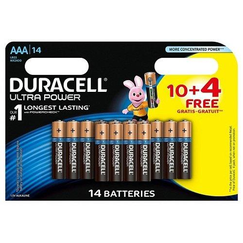 Duracell de 5000394119611 Alcaline 1,5 V Non Rechargeable Battery – Non Rechargeable Batteries (Alkaline, cyli ndrical, 1.5 V, AAA)