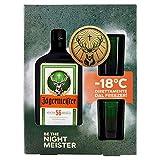 Jagermeister - Cofanetto con Bottiglia di Amaro 70 Cl. + 2 Bichieri in Vetro - 35% vol.