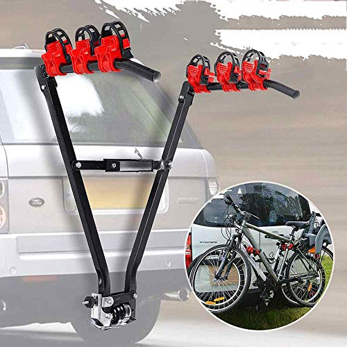 LALEO V Form Eisen Fahrrad Rack 3-Bike...