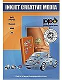 PPD Papier magnétique de qualité photo jet d'encre A4 mat x 5 feuilles PPD-32-5