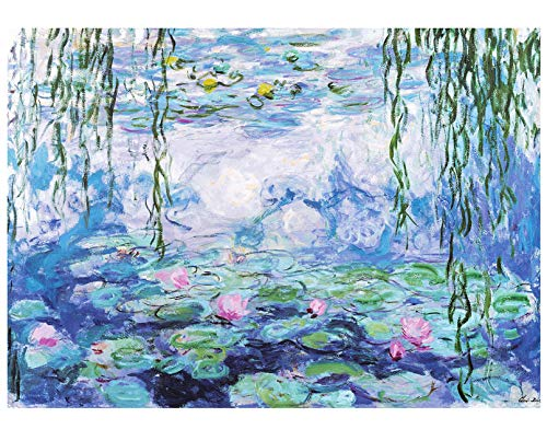 Puzzle da 1000 pezzi, puzzle Monet, gallerie d'acqua, puzzle da 1000 pezzi per adulti bambini a partire dagli 8 anni di età, puzzle Jigsaw che rilascia lo stress pedagogico