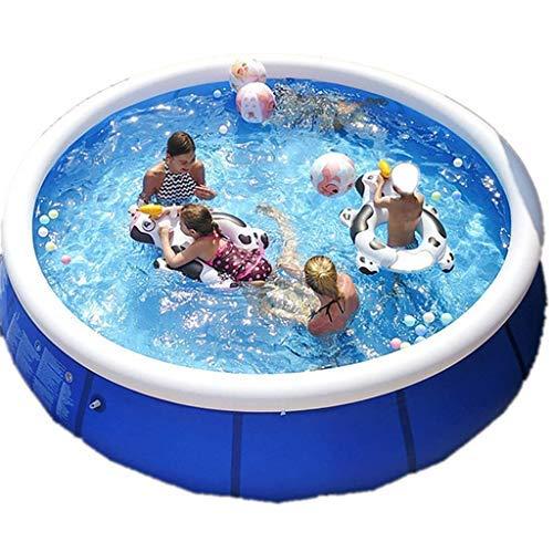 Juego de piscina grande de 420 x 84 cm