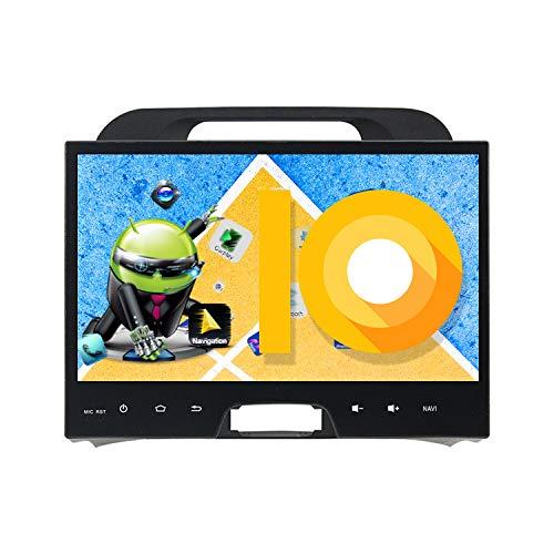 ZWNAV Android 10.0 Car Stereo Autoradio Lettore Dvd unità di Calore per KIA Sportage 3 4 2010-2016 Carplay Integrato DSP RDS Supporto Navigazione GPS Bluetooth WiFi Controllo del Volante