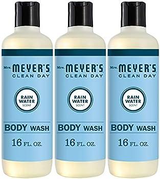 3-Pack Mrs. Meyer's Clean Day Moisturizing Body Wash