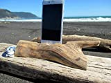 Iphone 7-8- X- XS Docks Pre Order DriftWood iPhone Stand Wooden iPhones Docking Station Reclaimed Drift Wood iPhone 7-8-X-XS Dock Wooden Stand