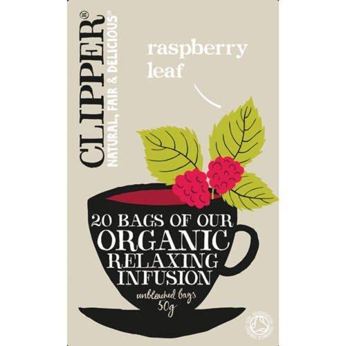 (3 PACK) - Clipper - Organic Raspberry Leaf Tea | 20 Bag | 3 PACK BUNDLE by Clipper