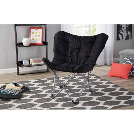 Oversized Moon Chair - Black