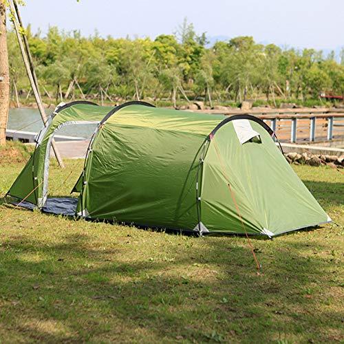 ZHJLOP Zelt 2 Personen Campingzelt Single Layer Strandzelt Outdoor Travel Winddicht Wasserdicht Markise Zelt Sommerzelt mit Tasche RU Lager